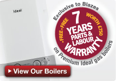 Central Heating Boilers with a 7 Year Warranty