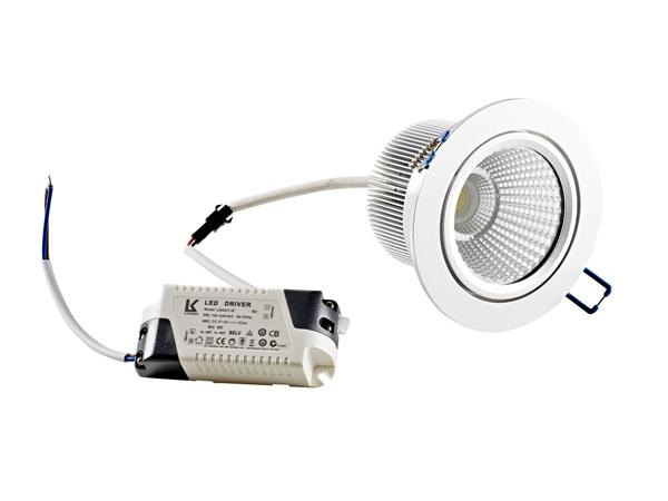 LED 10 Watt adjustable COB